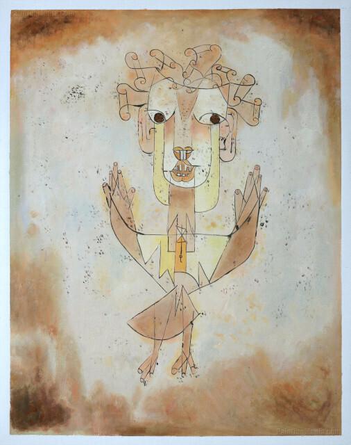 Angelus Novus de Paul Klee