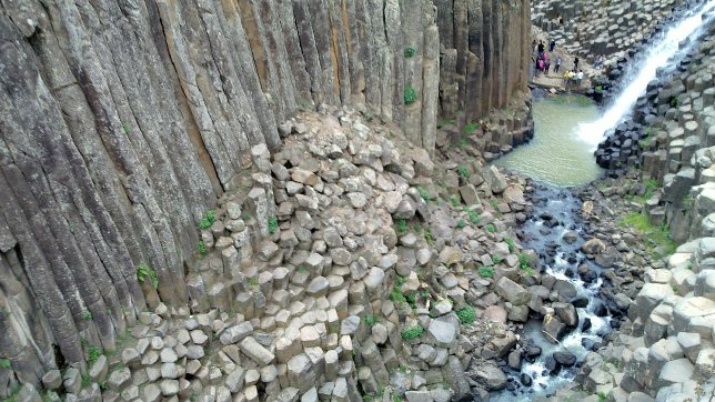 Prismas basálticos