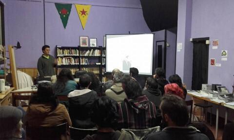 Charla sobre el caso Aytzinapa en el Ateneo liberatrio Xosé Tarrio