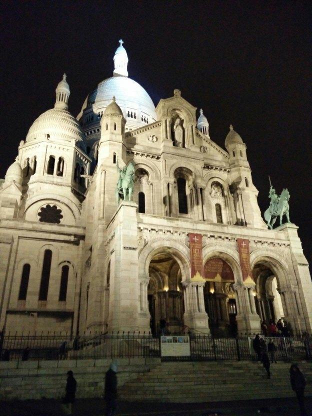 Basílica del Sagrado Corazón de París.