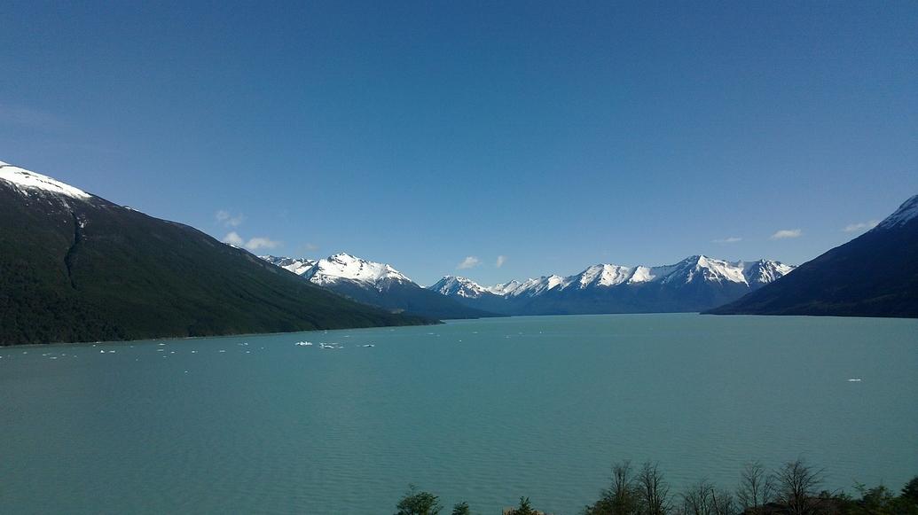 Lago argentino.