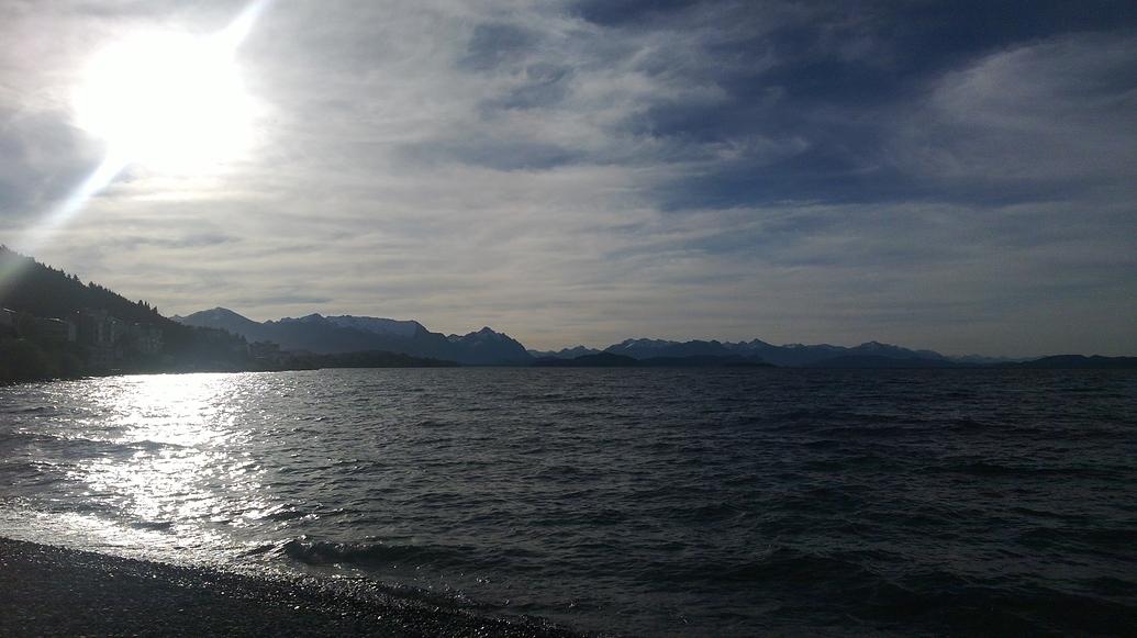 Lago Nahuel Huapi.