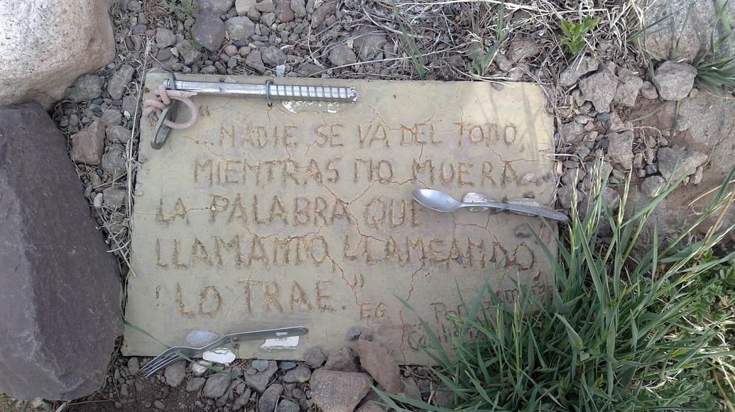 Cementerio de los andinistas.