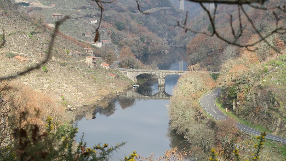Puente sobre el Miño