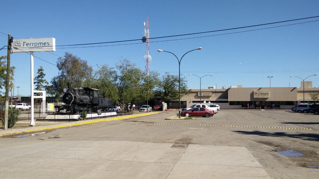 Estación del Tren en Los Mochis