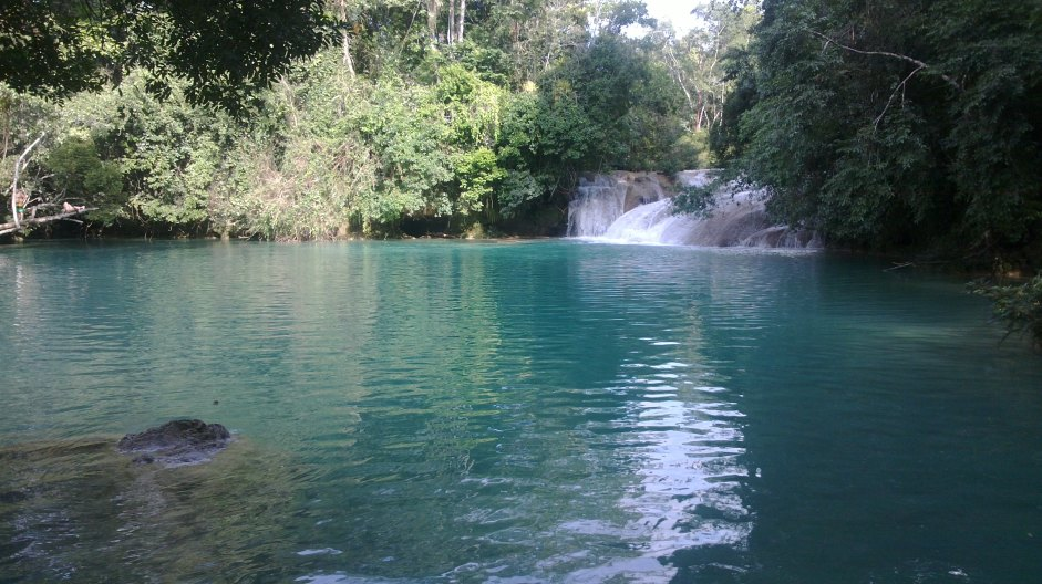 Cascadas del ejido Roberto Barrios