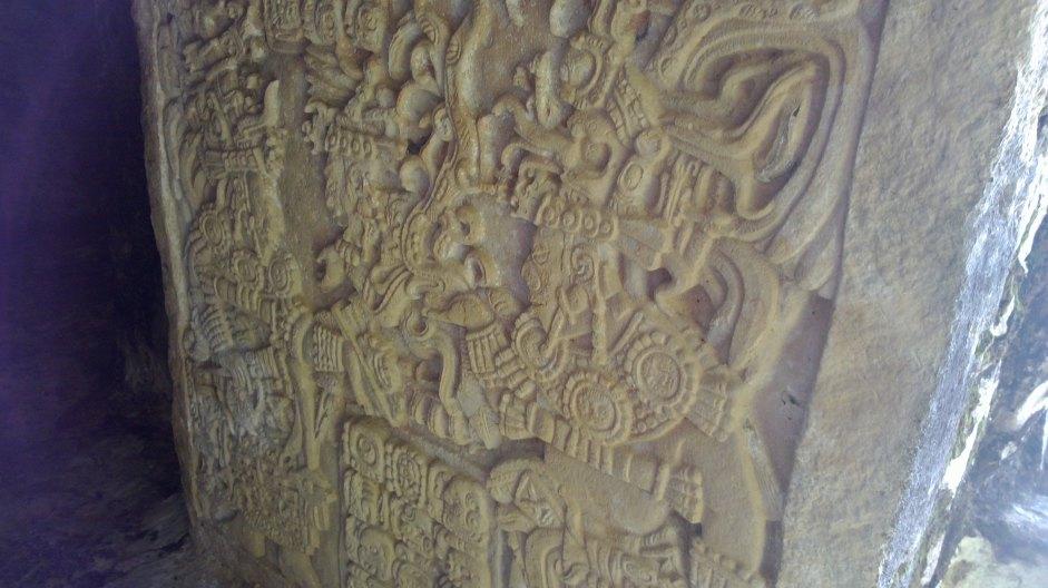 Estela en Yaxchilán