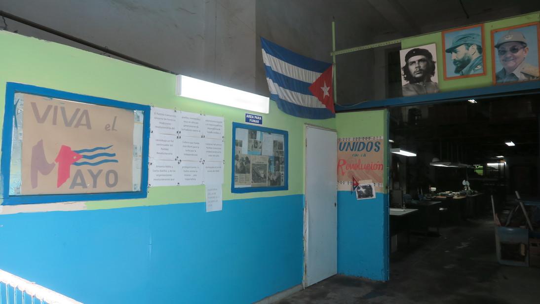 Oficina del PCC.