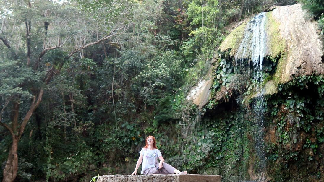 Cascada El Salto, en Soroa.