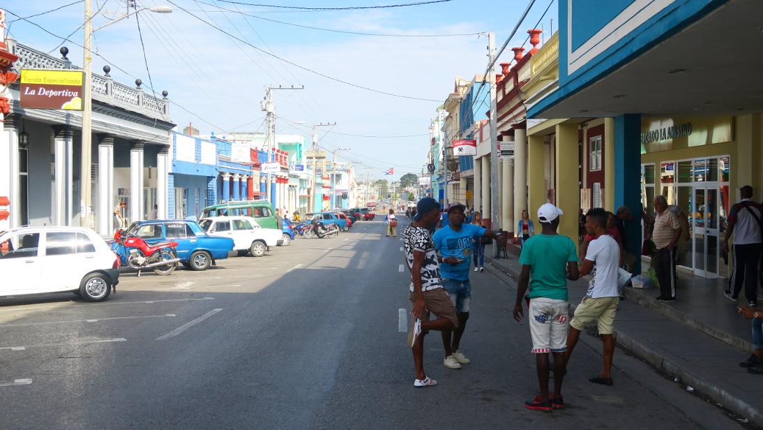 Calle de Pinar del Río.