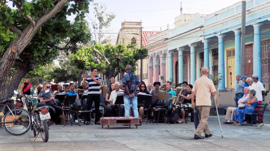 Paseo del Prado de Cienfuegos.