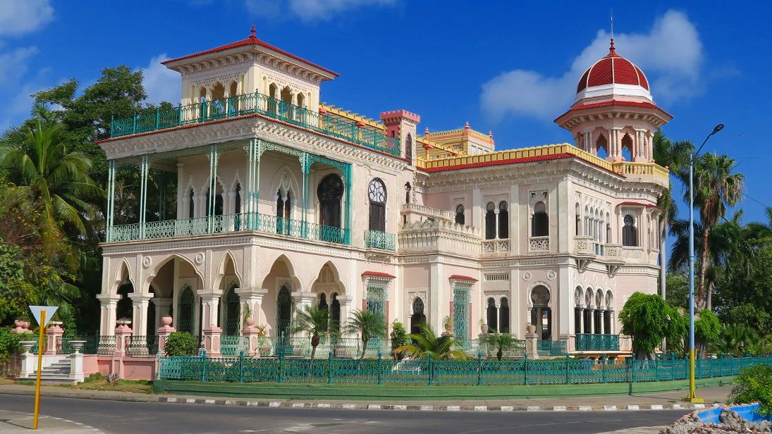 Palacio de Valle en Punta Gorda, Cienfuegos.