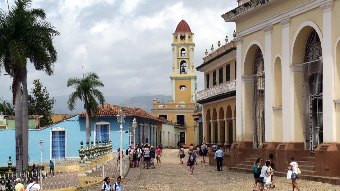 Calle Cristo de Trinidad.