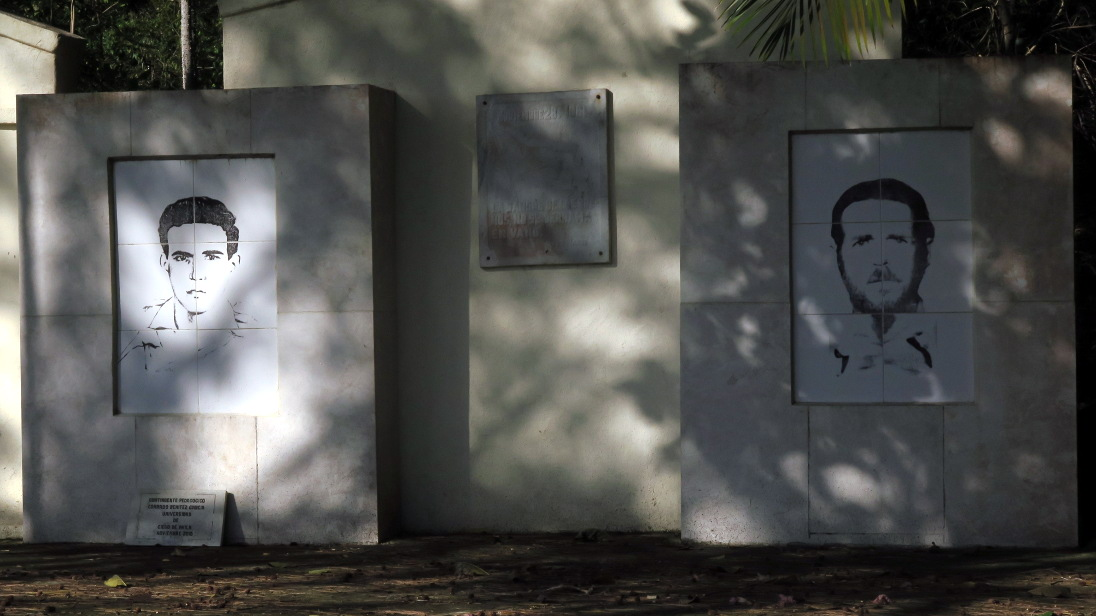 Monumento al brigadista Manuel Ascunce y a su alumno, Pedo Lantigua.