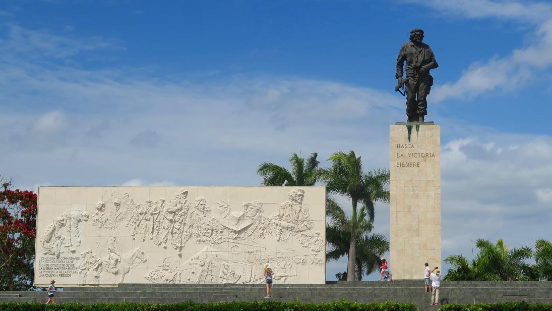 Conjunto Escultórico Memorial Comandante Ernesto Che Guevara.