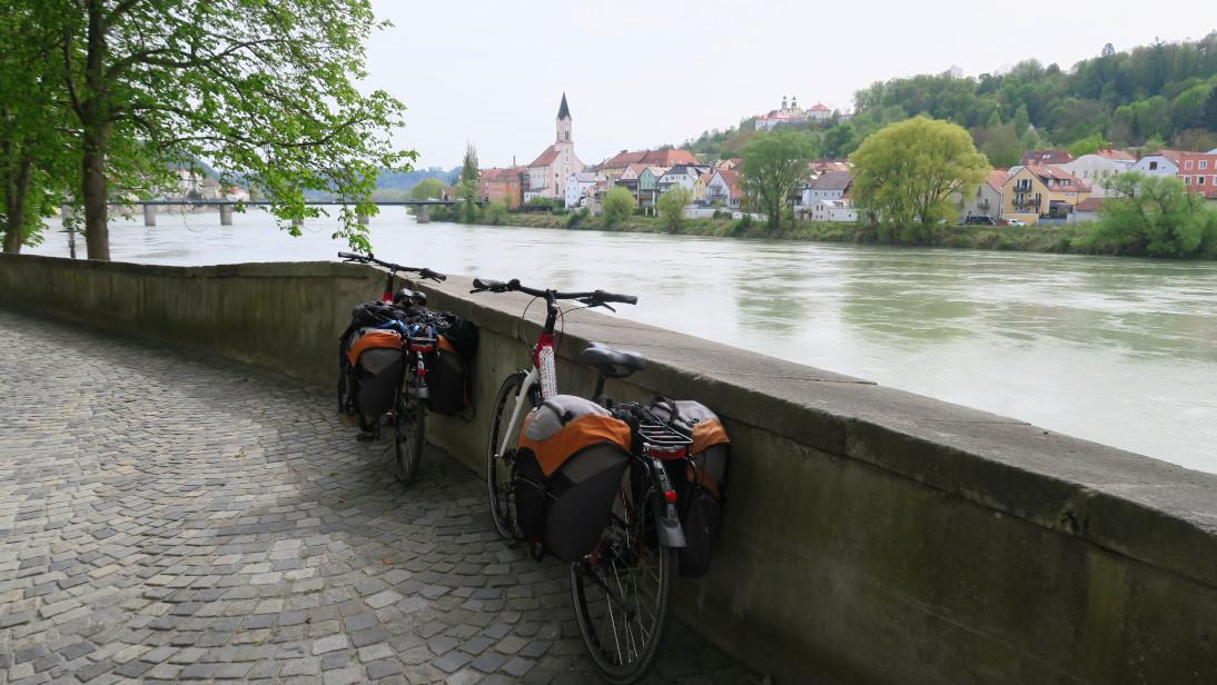 Iniciando la ruta en Passau.