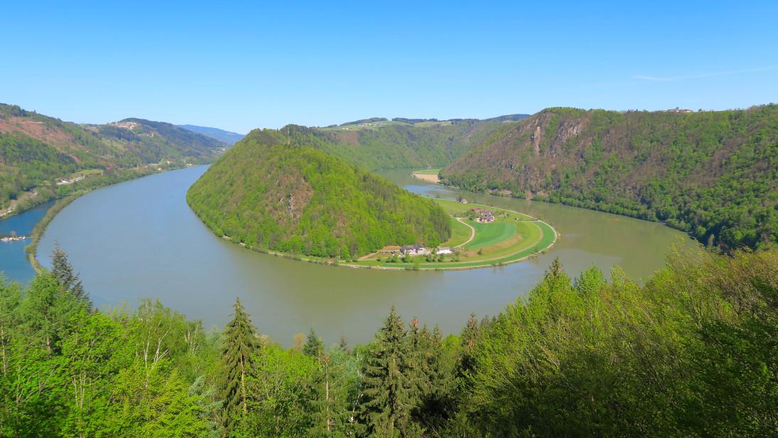 El gran meandro de Schölgener.