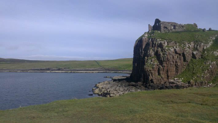 Duntulm Castle.