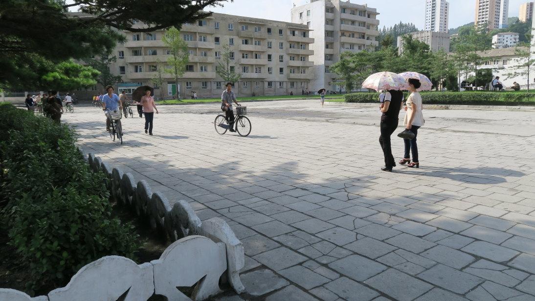 Martes por la tarde en Wonsan.