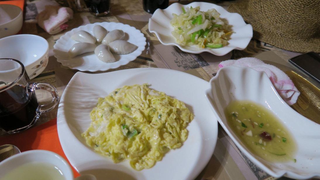 Comida en Wonsan.