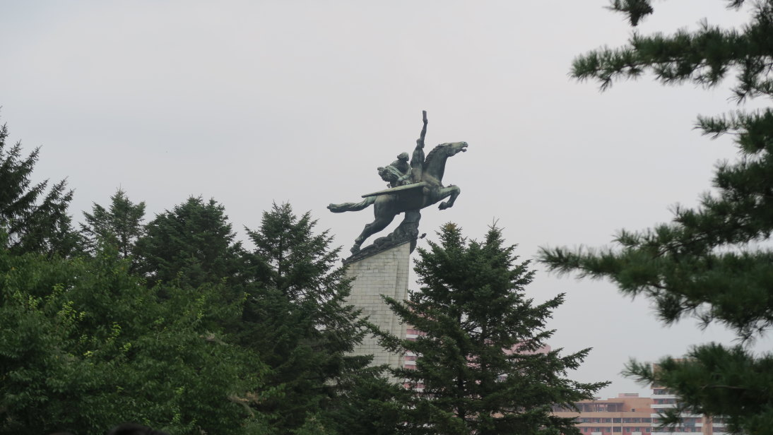 Estatua Chollima.