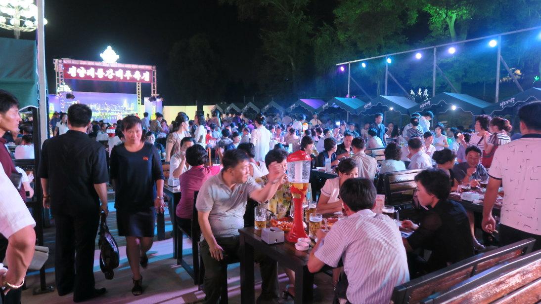 Feria de la cerveza.