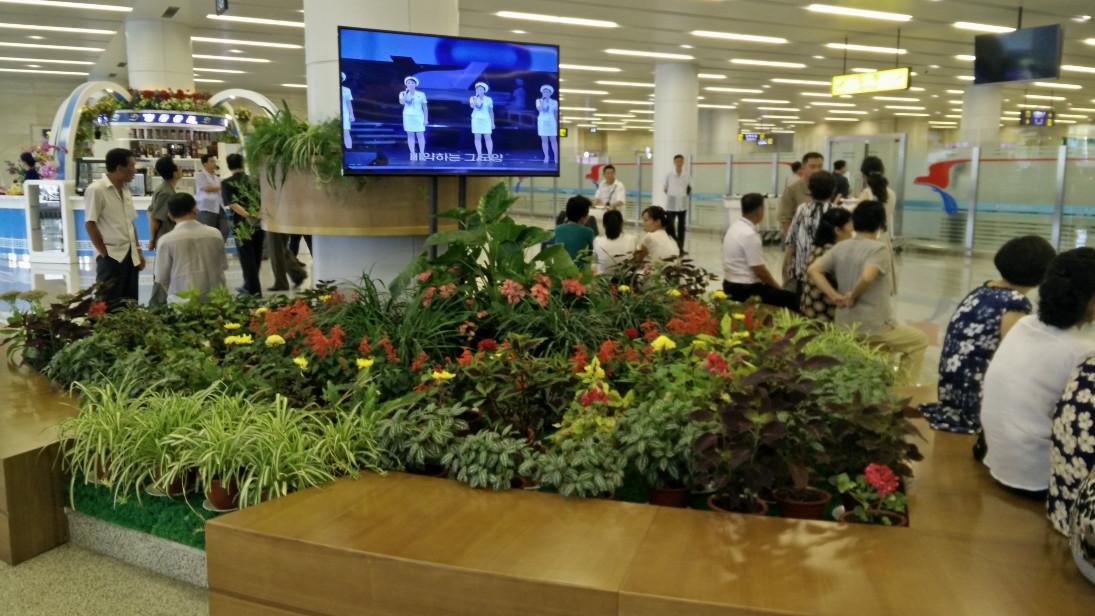 Aeropuerto de Pyongyang.