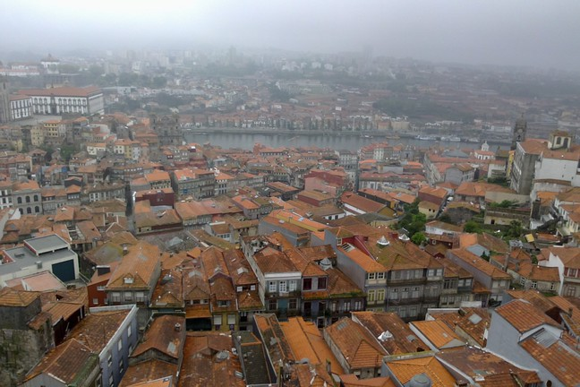 Douro desde la Torre dos Clérigos.