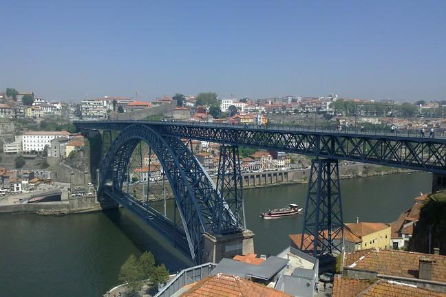 Puente Dom Luís I.