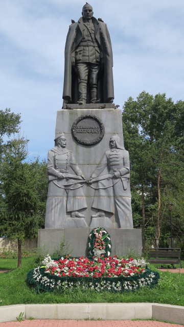 Estatua a Alexander Kolchak.