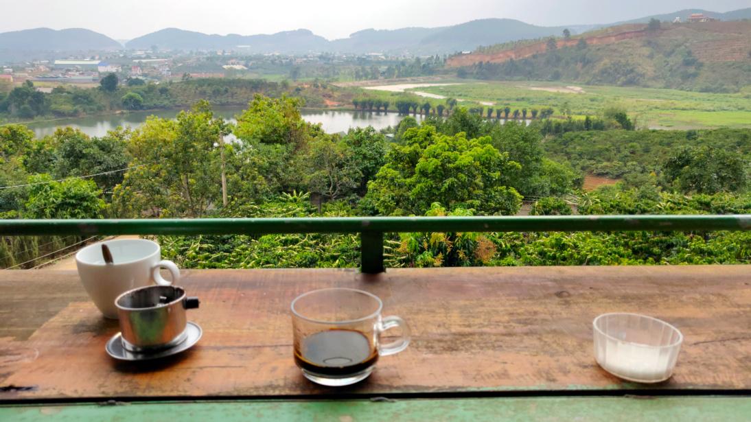 Cafetal en Đà Lạt