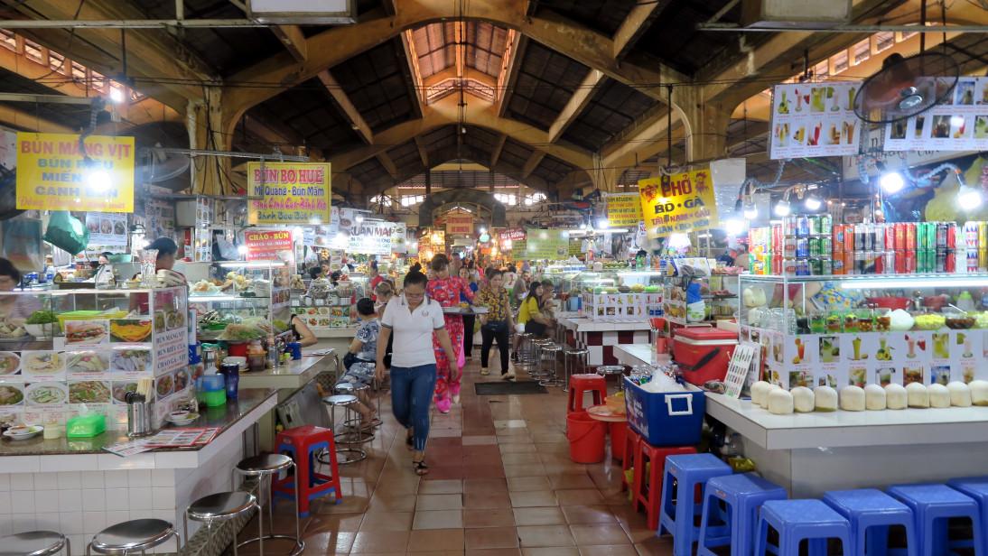 Mercado Bến Thành en Ciudad Ho Chi Minh