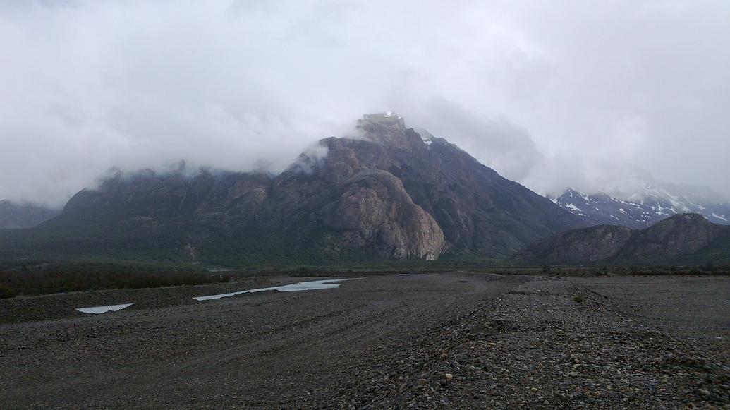 Montaña, viento y frío.
