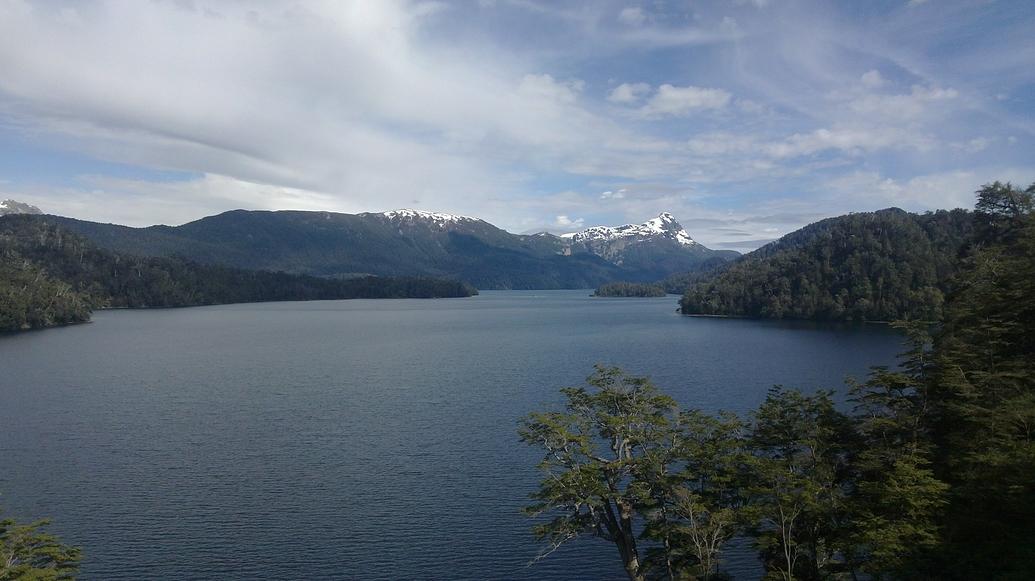 Uno de los lagos.