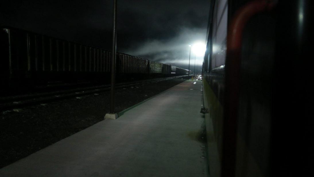 La estación del tren en Los Mochis