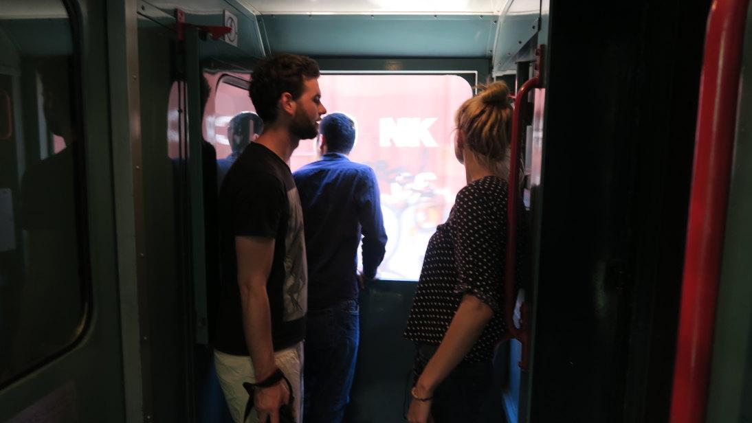 Vida entre vagones