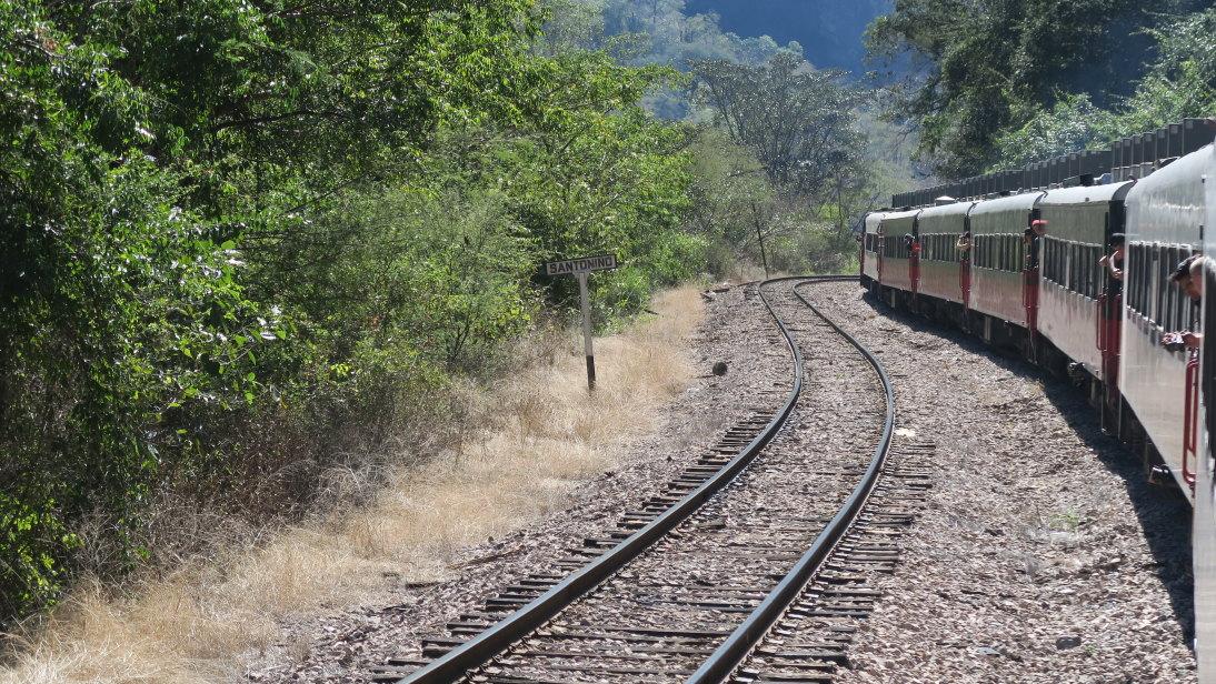 El tren y sus ocupantes