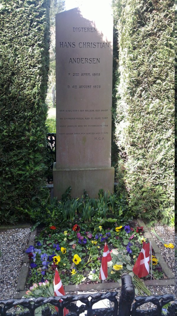 Tumba de Hans Christian Andersen.