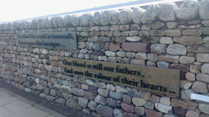 El campo de batalla de Culloden.