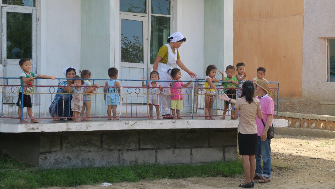 Guardería infantil en Chonsam.