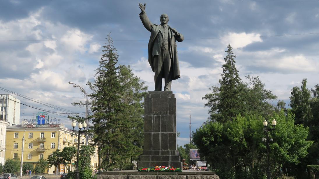Monumento a Lenin.