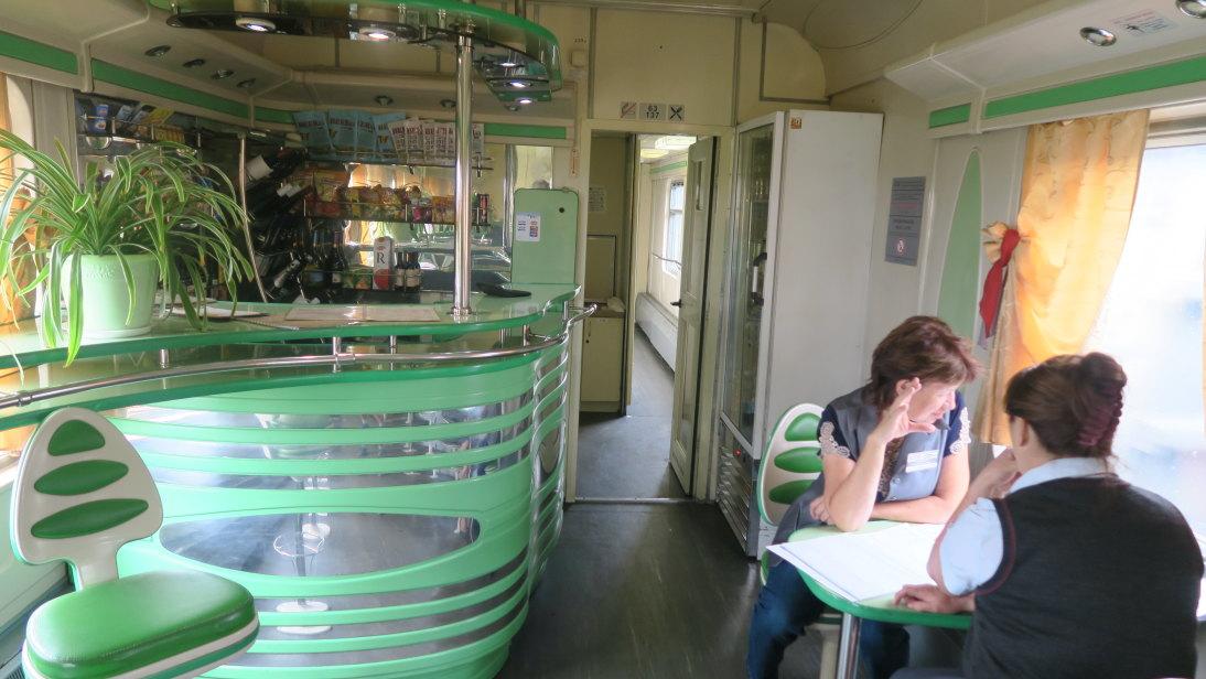 Vagón cafetería
